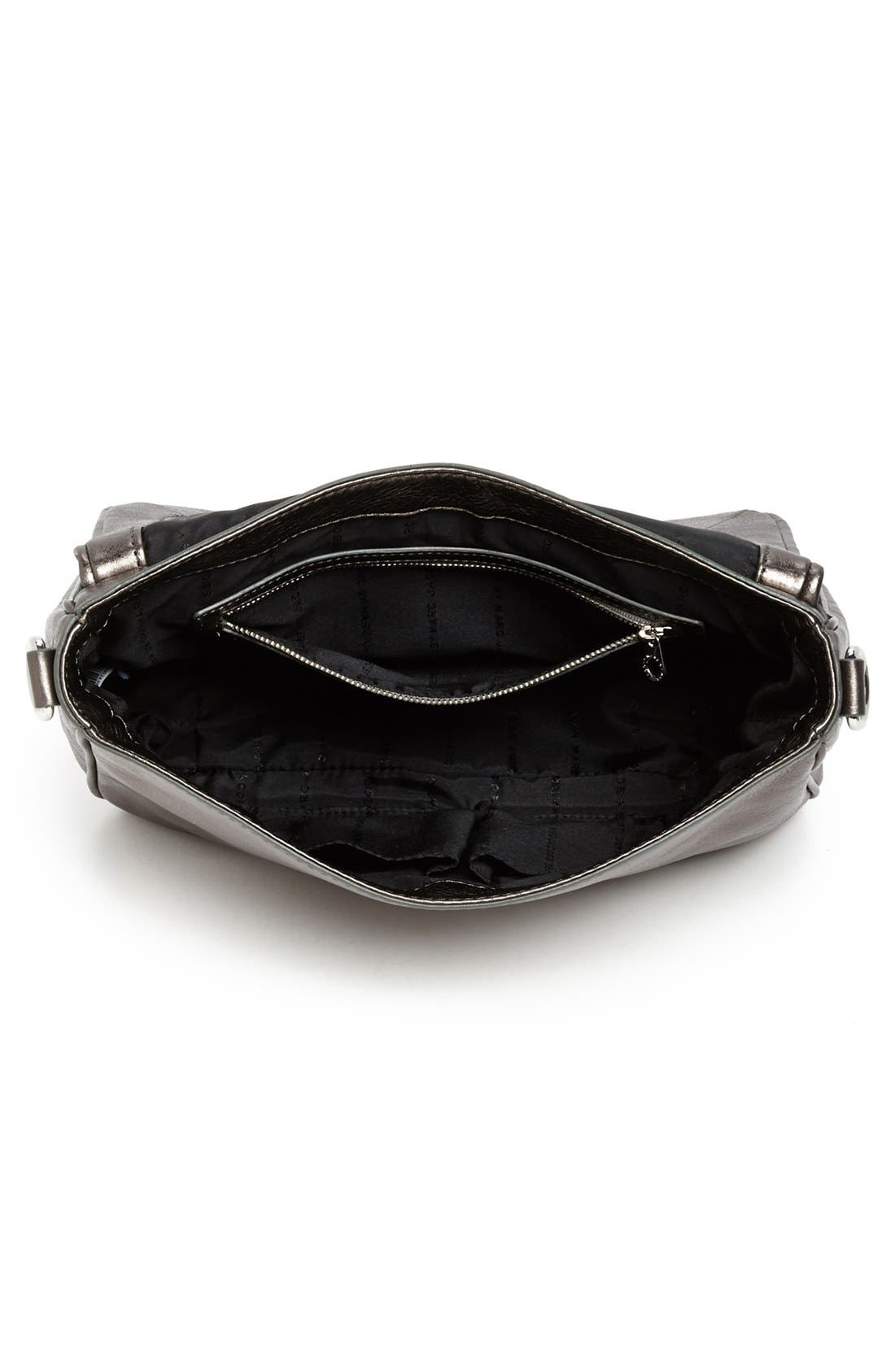 Alternate Image 3  - MARC BY MARC JACOBS 'Too Hot to Handle' Metallic Leather Crossbody Bag