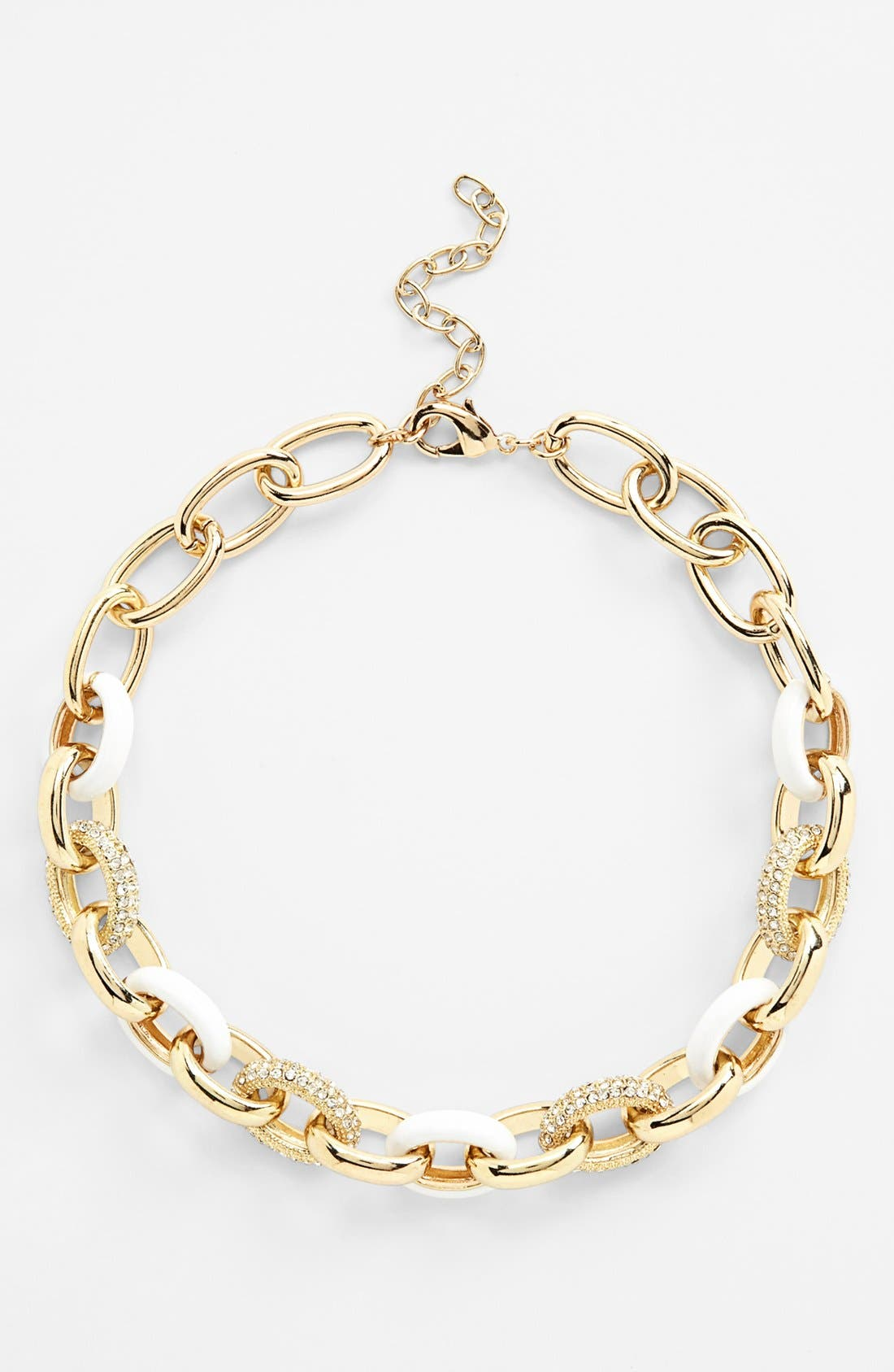 Alternate Image 2  - Nordstrom 'Yacht Club' Chain Link Collar Necklace