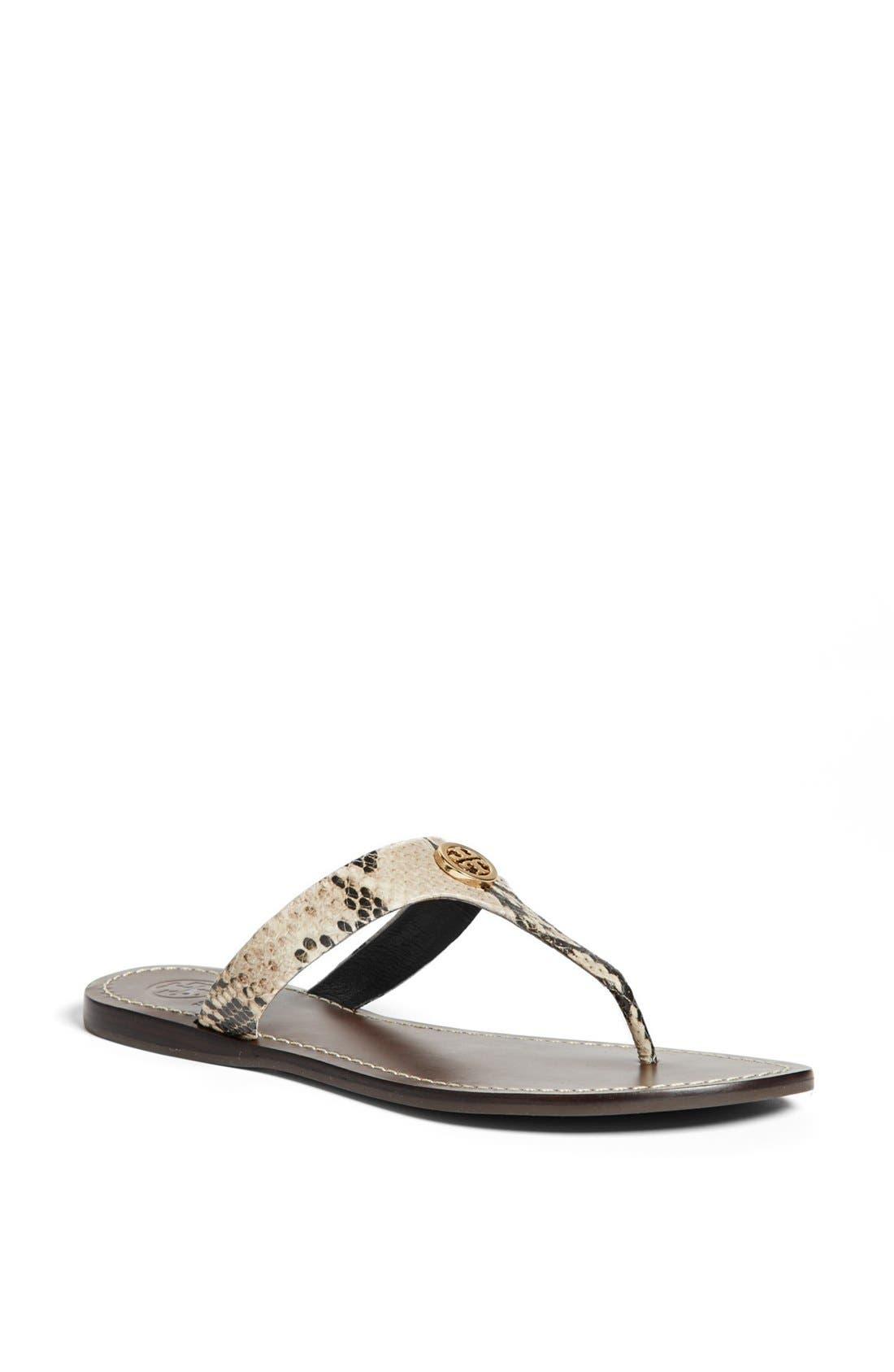 Main Image - Tory Burch 'Cameron' Thong Sandal