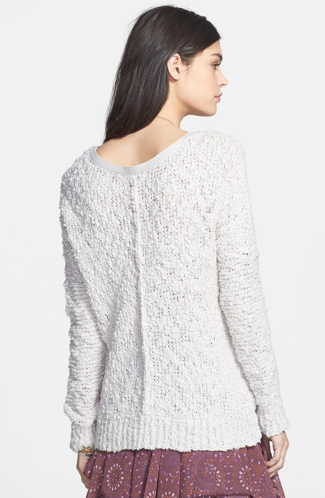Alternate Image 2  - Free People 'Songbird' Sheer Sweater