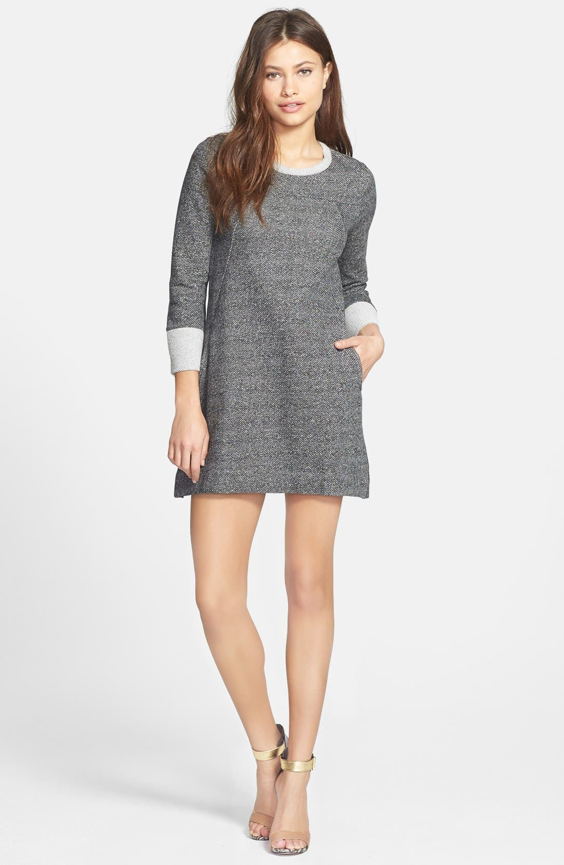 Main Image - French Connection 'Mississippi Mélange' Sweater Dress