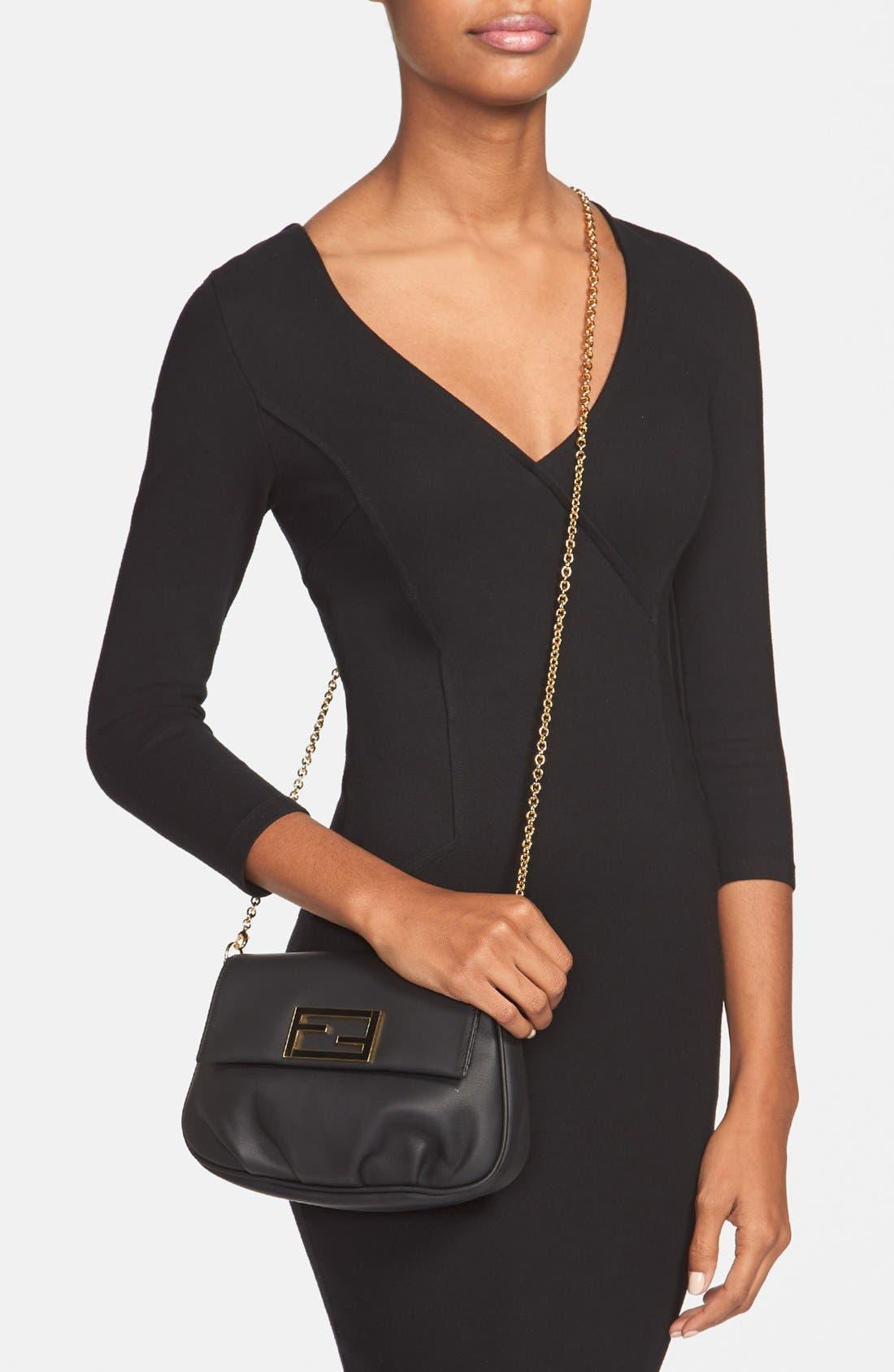 Alternate Image 2  - Fendi 'Fendista' Pouchette Crossbody Bag