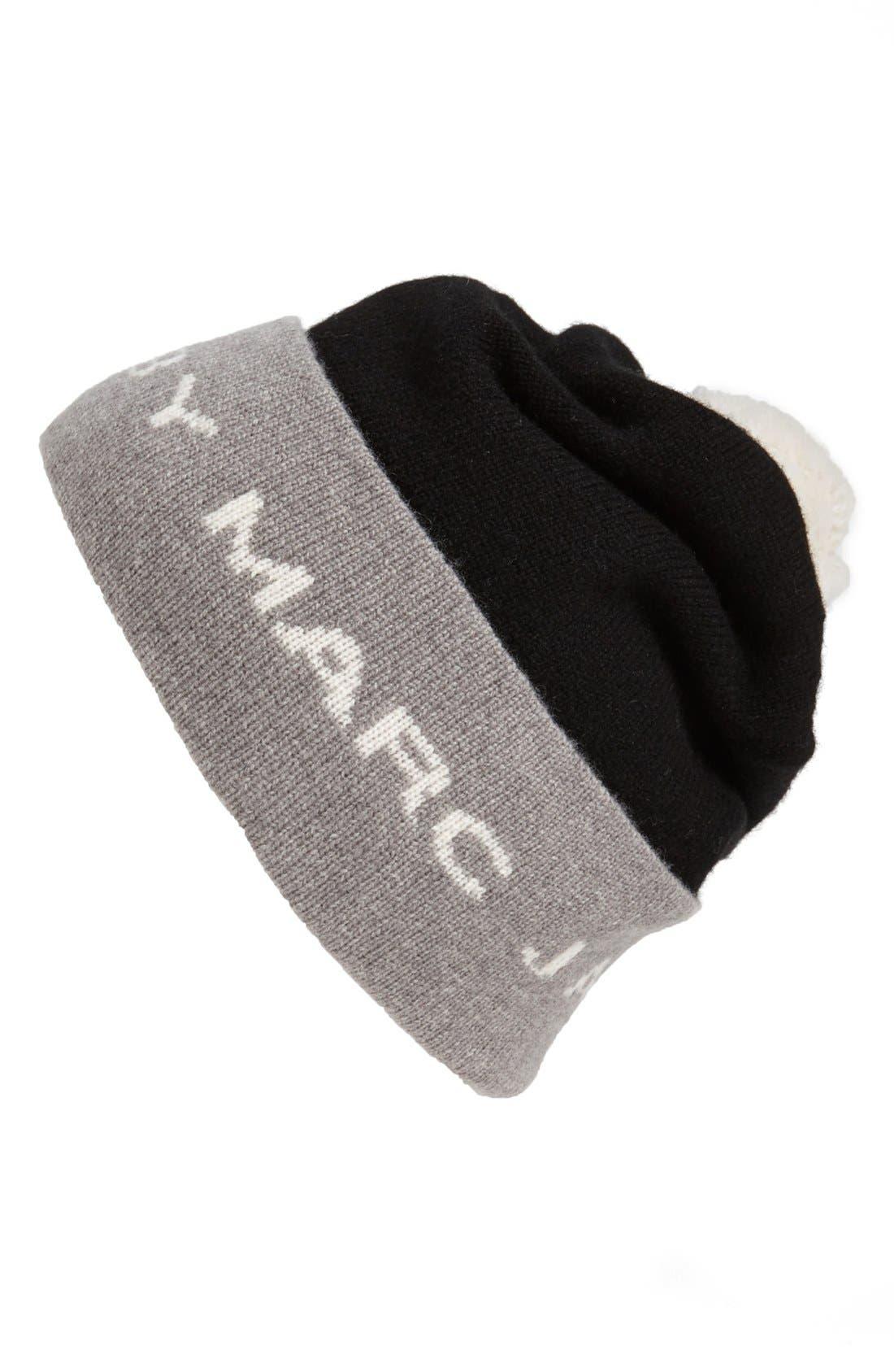 Alternate Image 1 Selected - MARC BY MARC JACOBS Logo Ski Hat