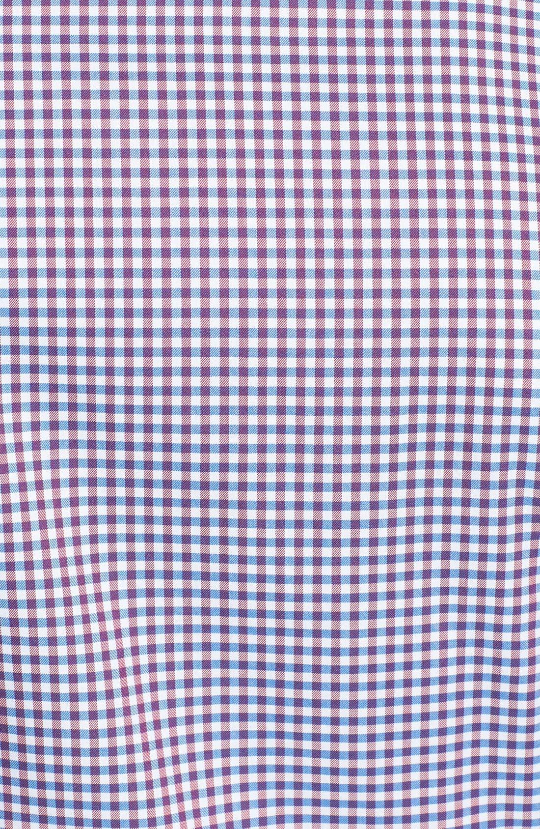 Alternate Image 3  - BOSS HUGO BOSS 'Obert' Regular Fit Check Sport Shirt