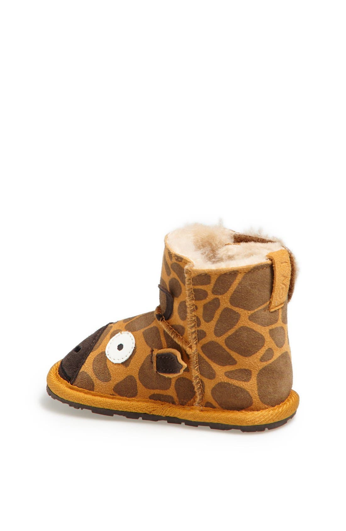 Alternate Image 2  - EMU Australia 'Little Creatures - Giraffe' Boot (Baby & Walker)
