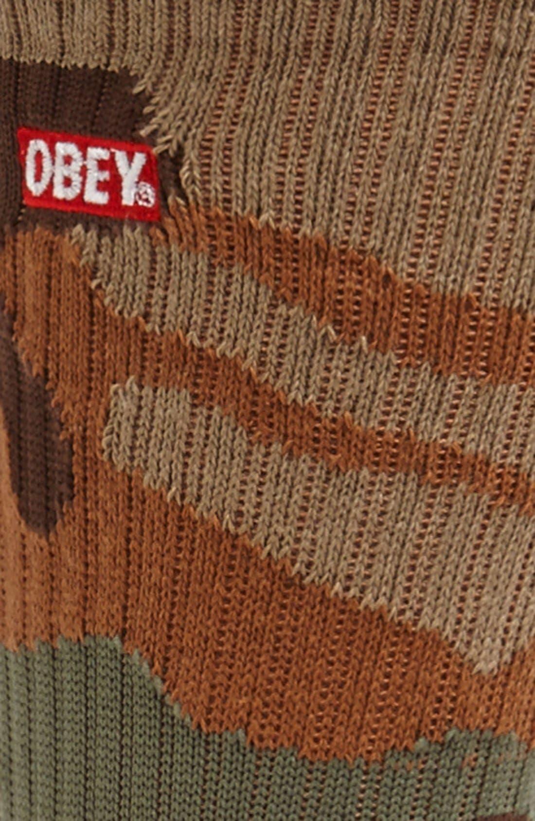 Alternate Image 2  - Obey 'Quality Dissent' Socks