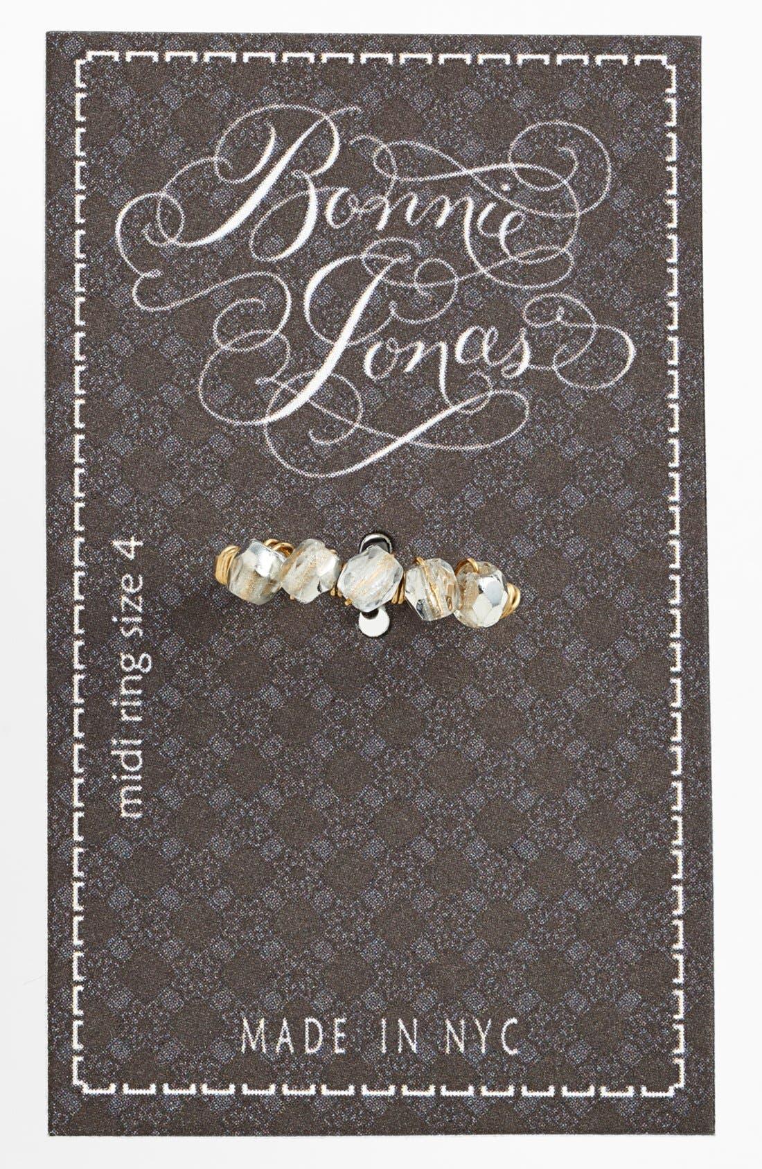 Alternate Image 1 Selected - Bonnie Jonas Crystal Midi Ring