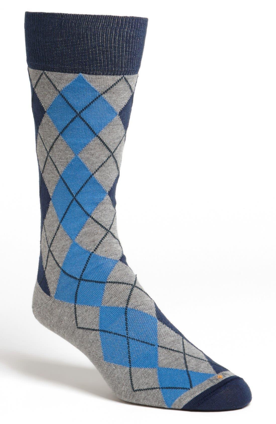Alternate Image 1 Selected - hook + ALBERT Argyle Socks