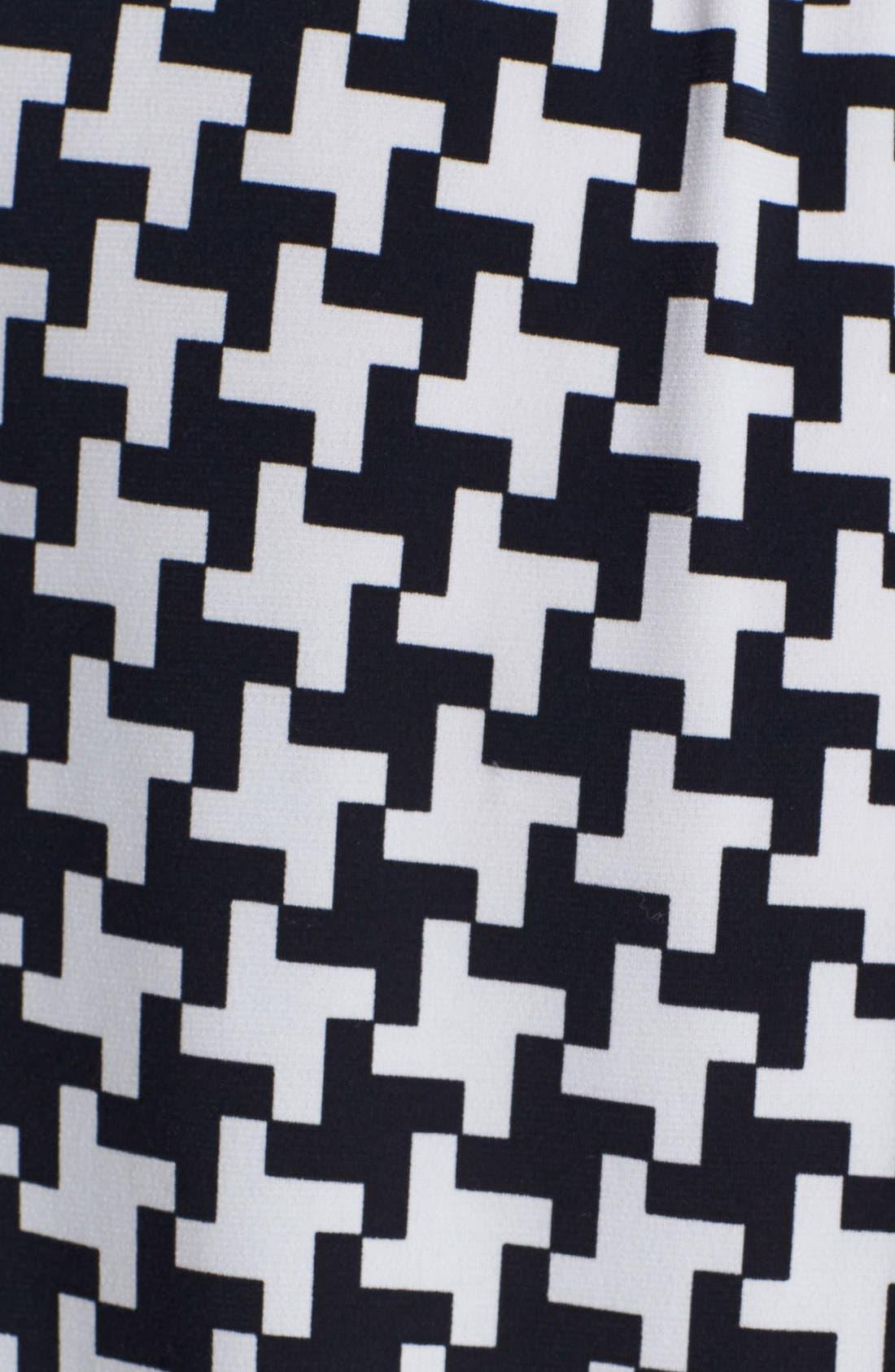 Alternate Image 3  - MICHAEL Michael Kors Chain Detail Print Peasant Top