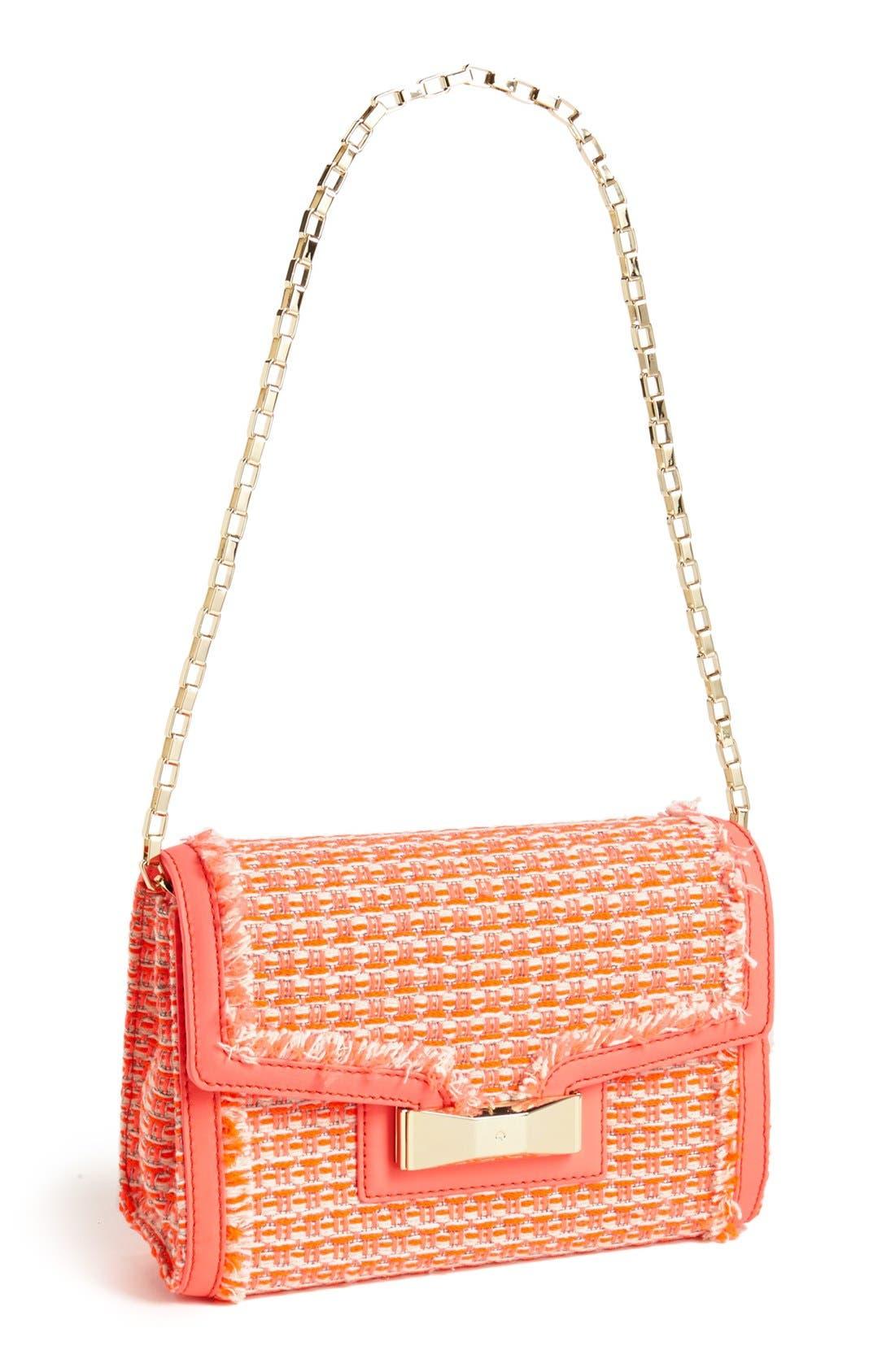 Main Image - kate spade new york 'carroll park - scarlette' tweed shoulder bag