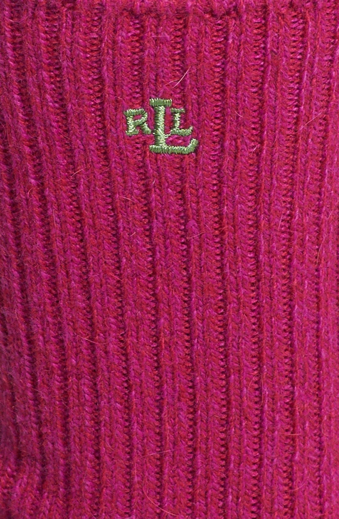 Alternate Image 2  - Ralph Lauren Twist Trouser Socks