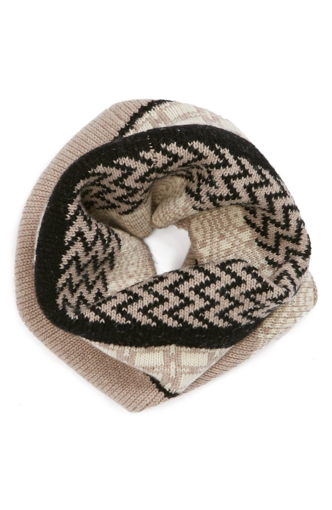 Alternate Image 1 Selected - Jonathan Adler Geo Fair Isle Wool Neck Warmer