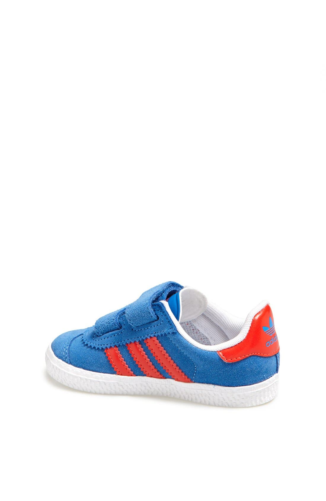 Alternate Image 2  - adidas 'Gazelle 2' Sneaker (Baby, Walker & Toddler)