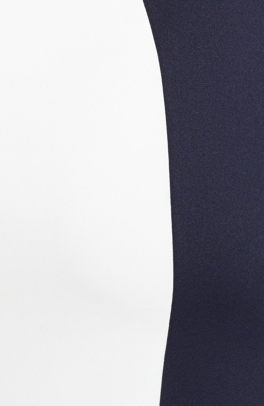 Alternate Image 3  - JAX Colorblock Scuba Dress
