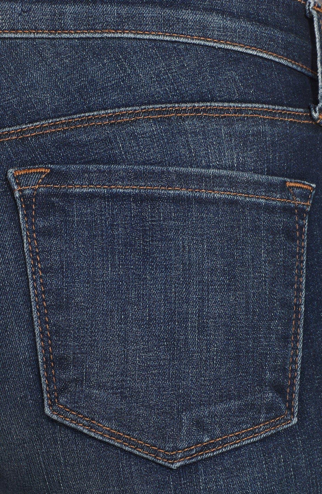Alternate Image 2  - J Brand Mid Rise Skinny Jeans (Waltz)