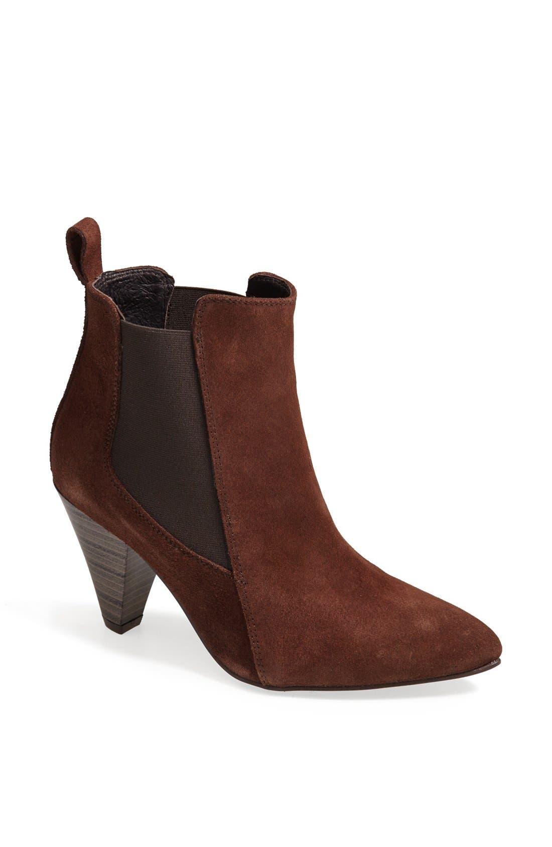 Alternate Image 1 Selected - Charles David 'Felisa' Leather Pointy Toe Bootie