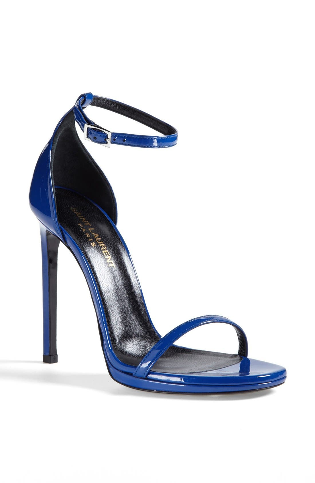 Main Image - Saint Laurent 'Jane' Ankle Strap Leather Sandal