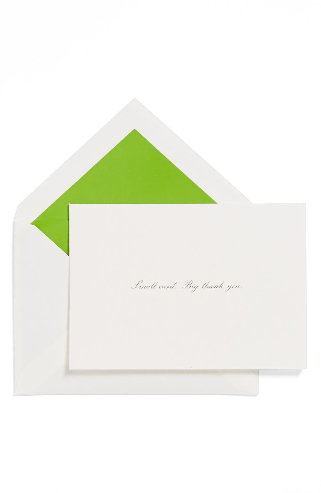 Alternate Image 1 Selected - kate spade new york thank you cards