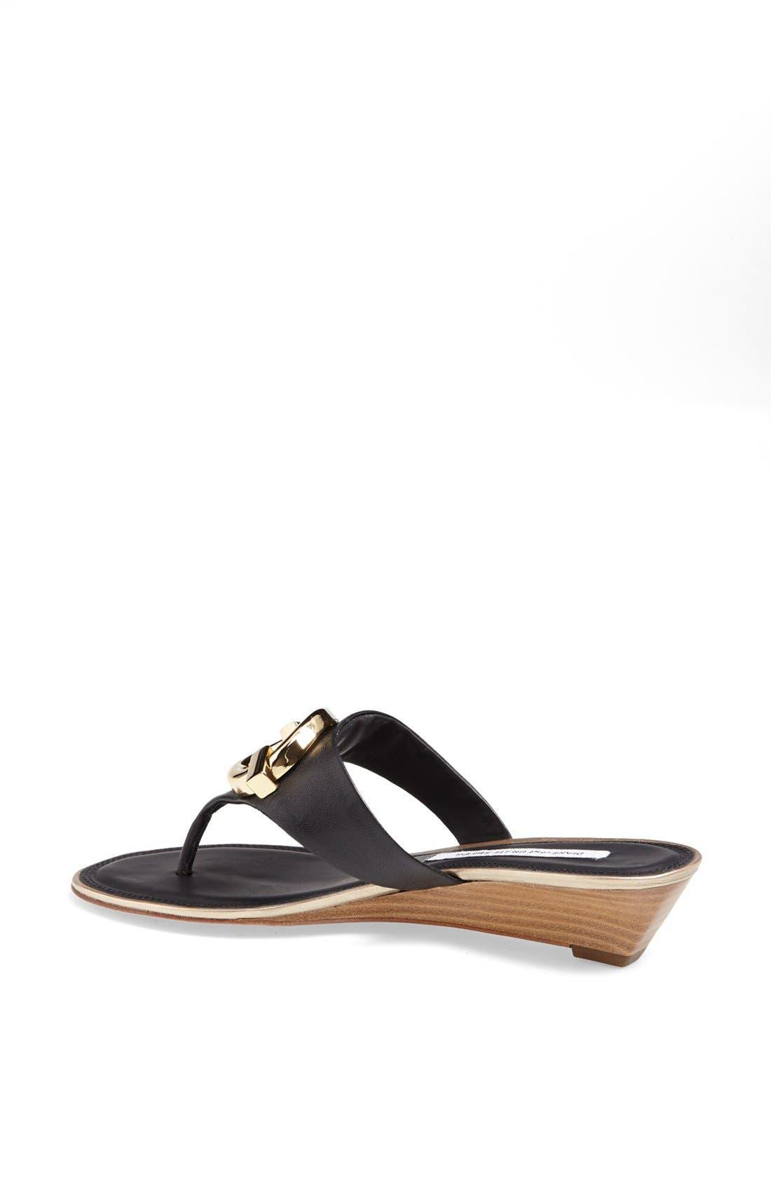 Alternate Image 2  - Diane von Furstenberg 'Tiles' Leather Sandal