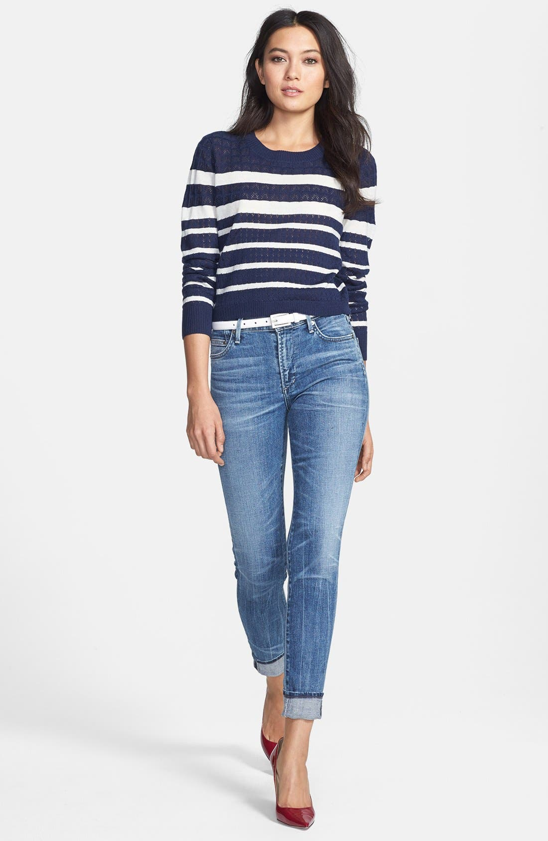 Alternate Image 1 Selected - Soft Joie Sweater & Citizens of Humanity Jeans