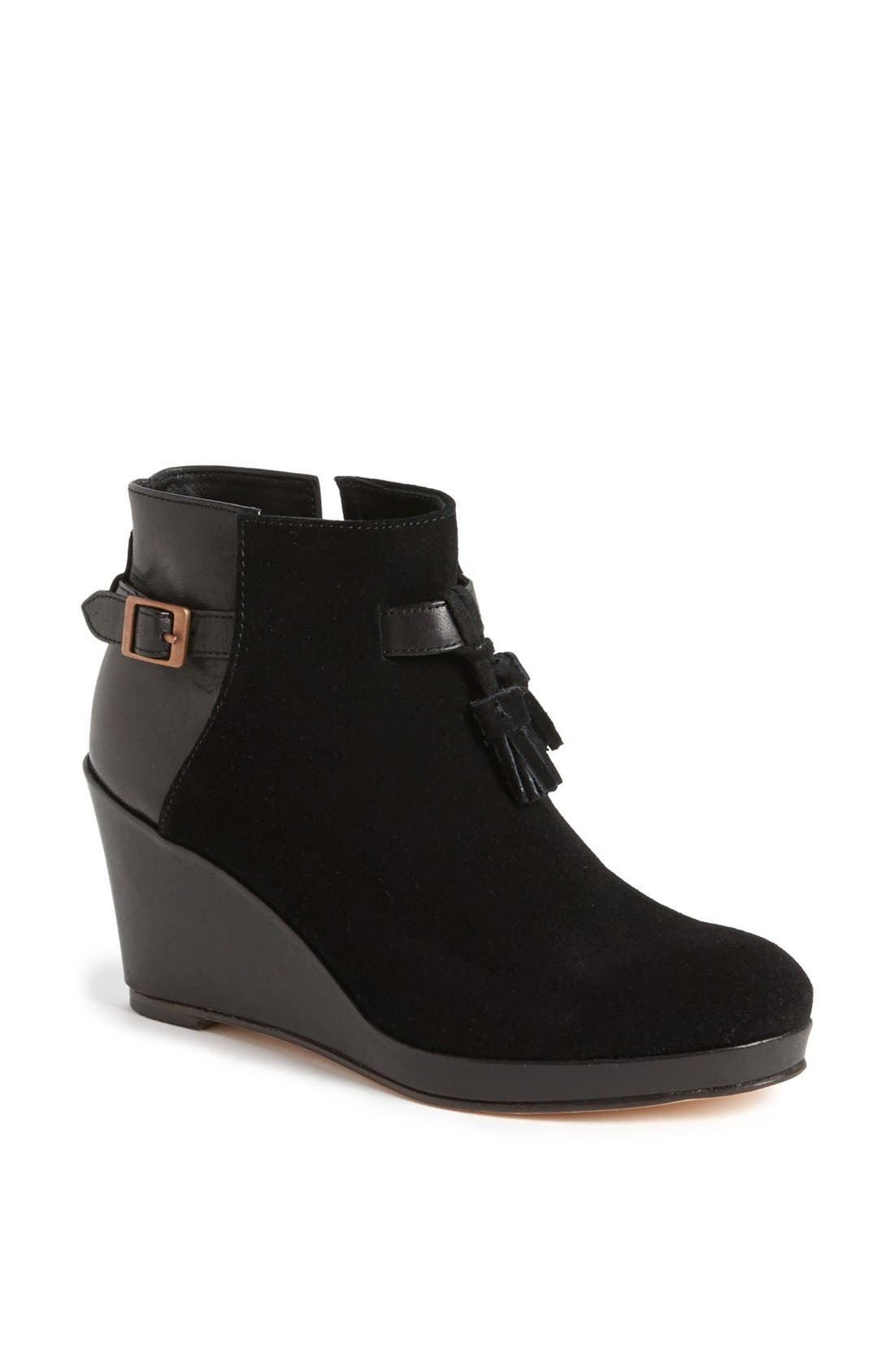 Main Image - Wolverine 1000 Mile by Samantha Pleet 'Socialite' Suede & Leather Wedge Bootie