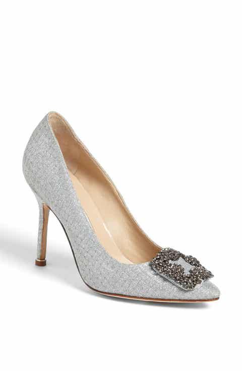 manolo blahnik hangisi jeweled pump women nordstrom exclusive