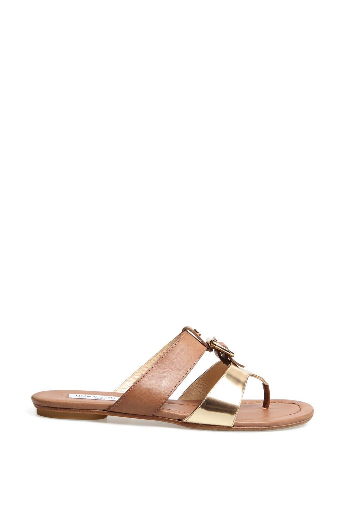 Alternate Image 4  - Jimmy Choo 'Nyssa' Buckle Sandal