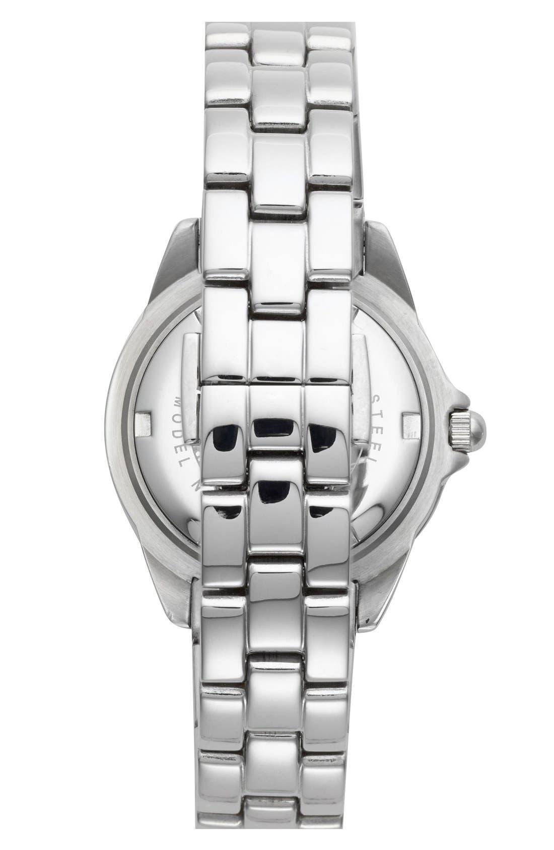 Alternate Image 2  - Folli Follie 'Daydream' Crystal Bezel Bracelet Watch, 29mm