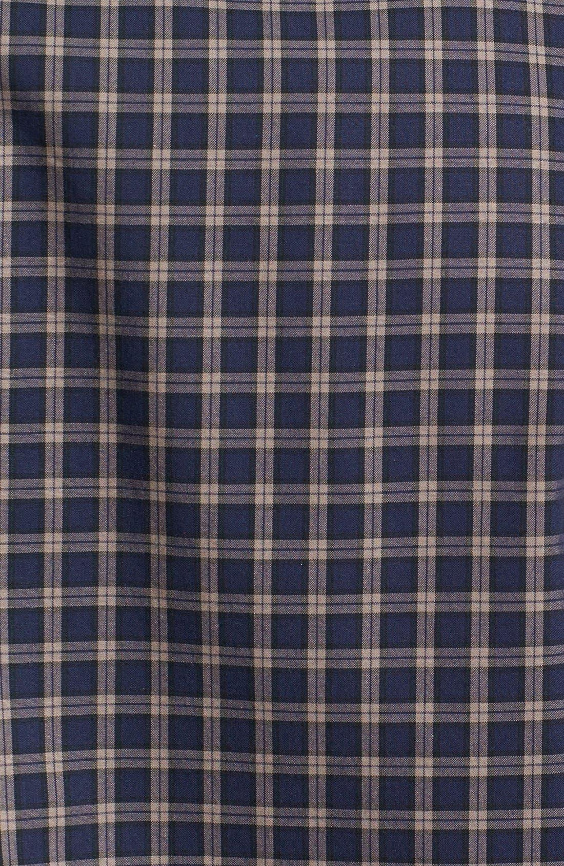 Alternate Image 3  - Nordstrom Smartcare™ Trim Fit Plaid Sport Shirt