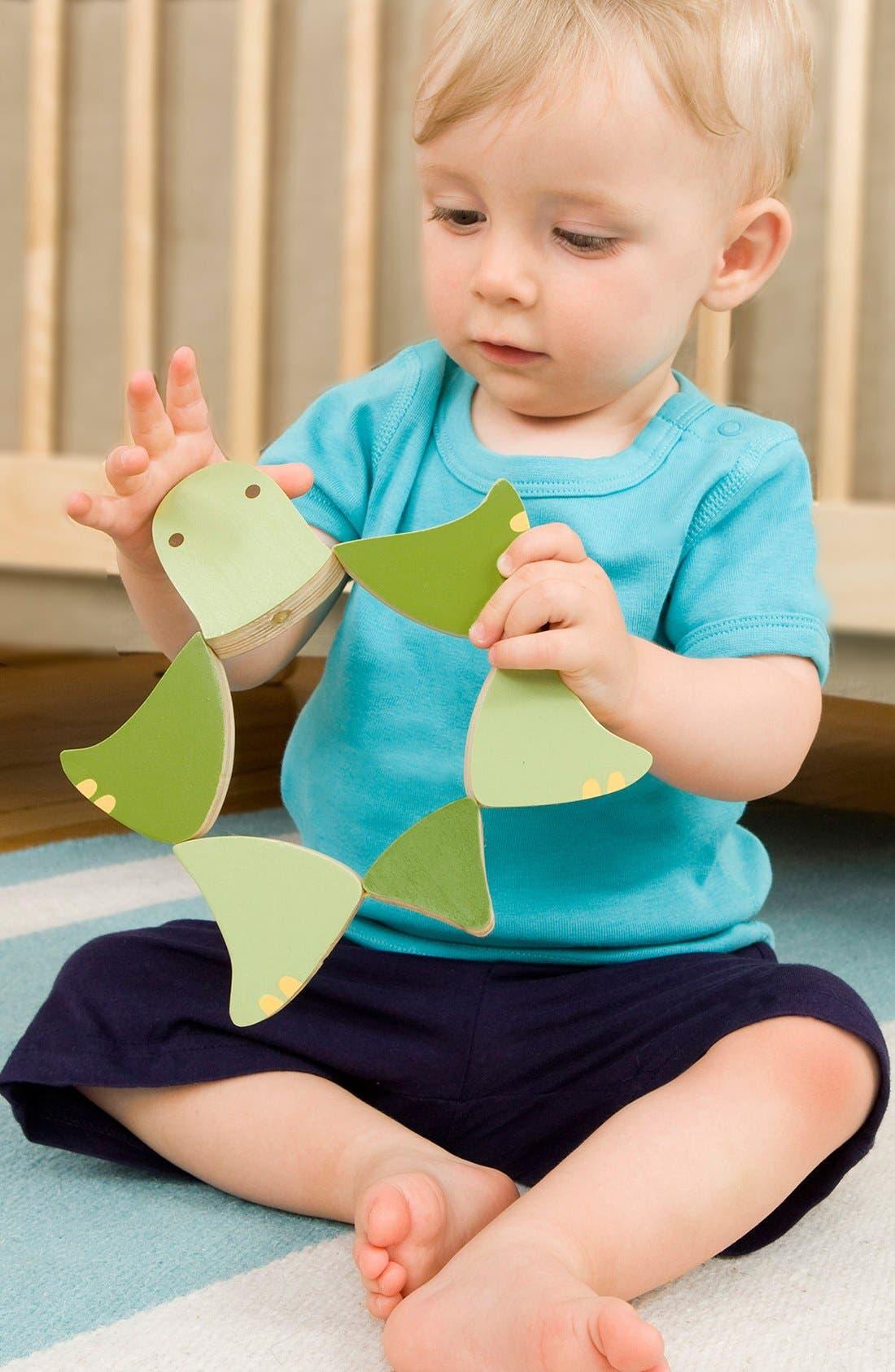 Alternate Image 5  - Skip Hop 'Giraffe Safari - Flip & Play Turtle' Wooden Toy