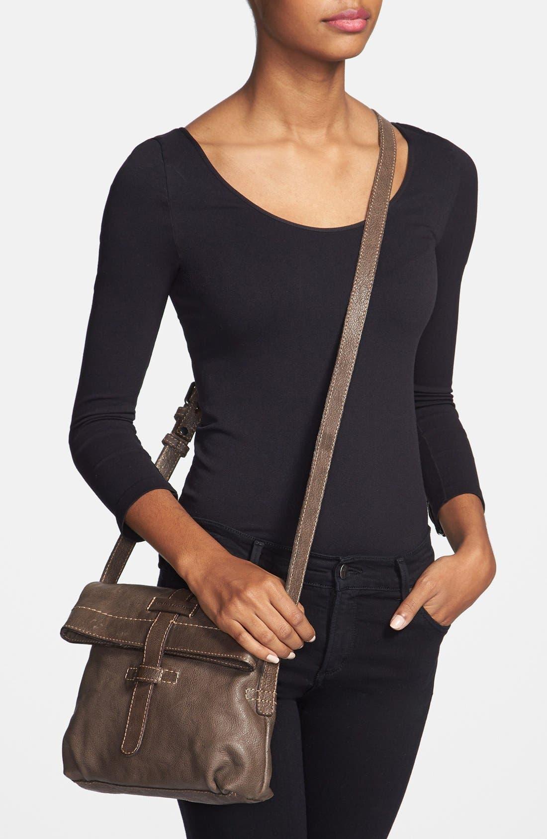 Alternate Image 2  - Frye 'Artisan Foldover' Leather Crossbody Bag