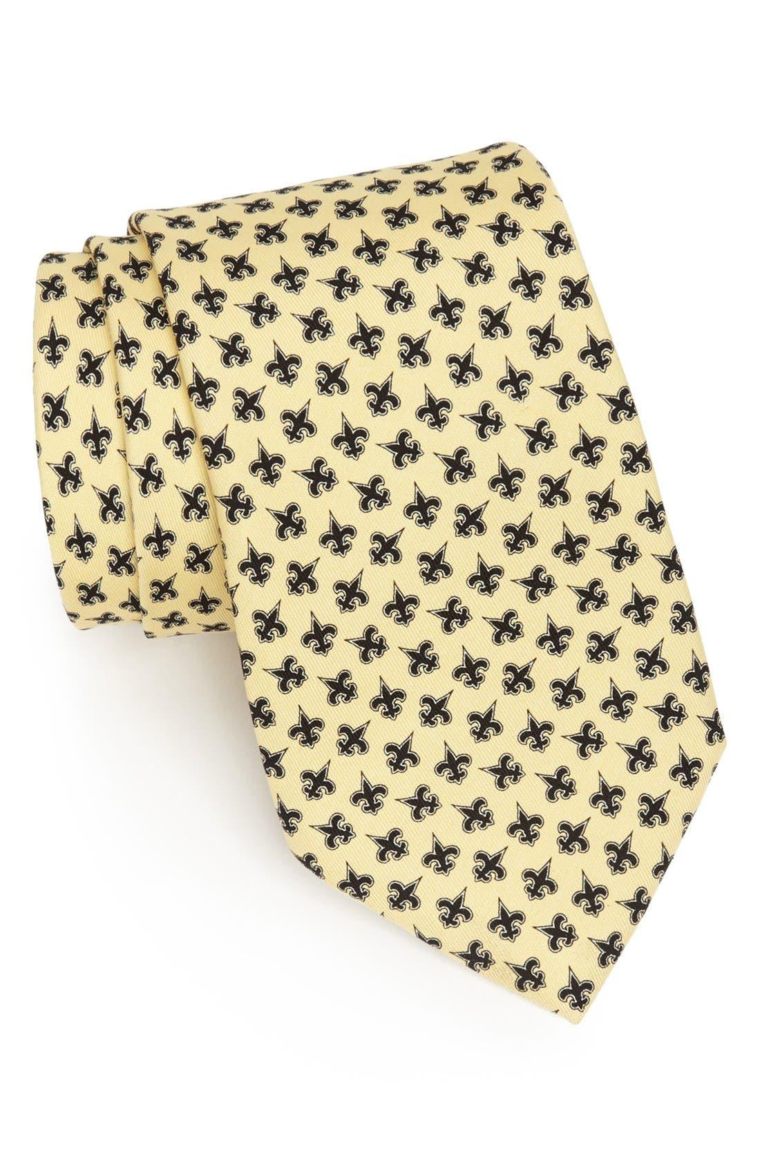 Main Image - Vineyard Vines New Orleans Saints Print Tie