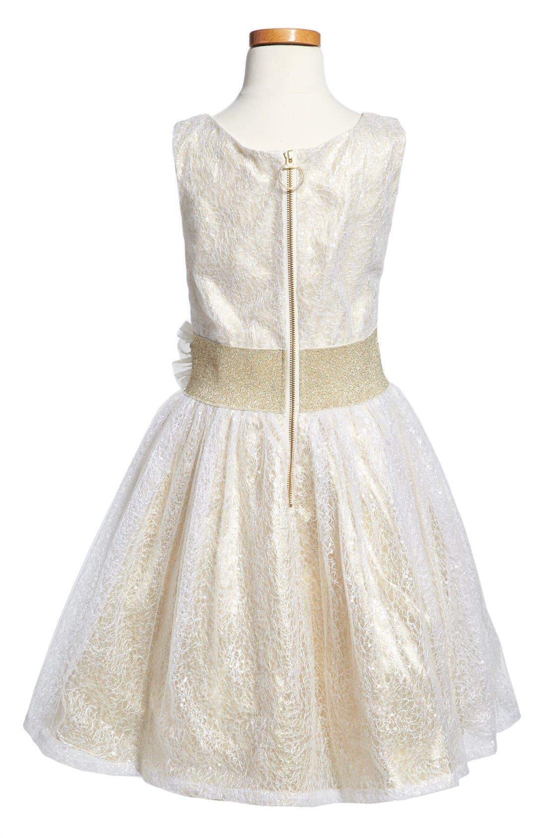Alternate Image 2  - Zoe Ltd Sleeveless Dress (Big Girls)