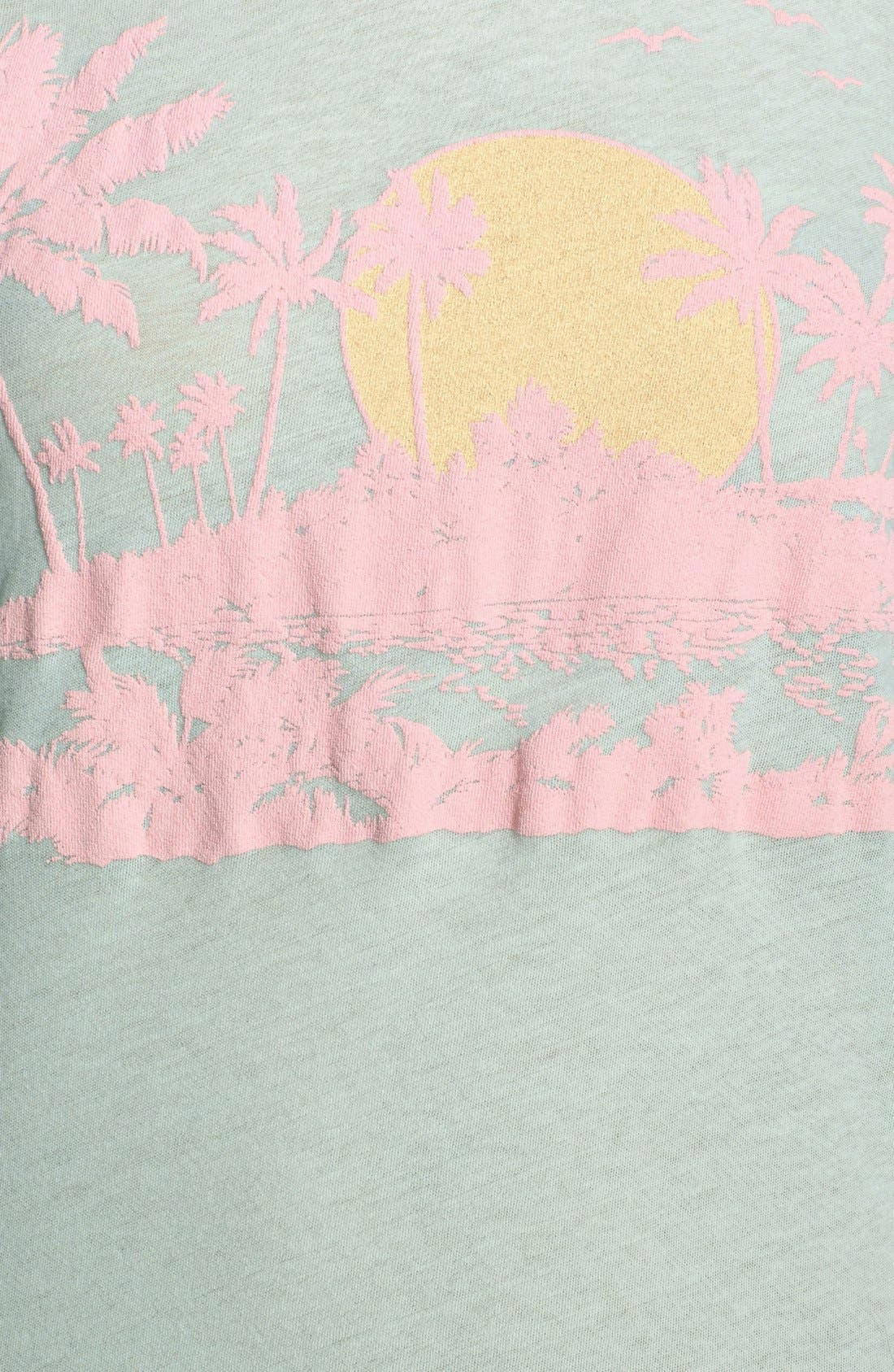 Alternate Image 3  - Wildfox 'Pink Island' Cotton Blend Tee