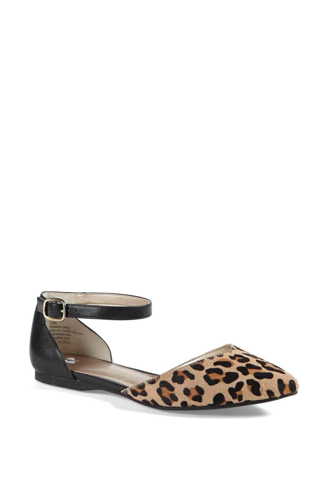 Alternate Image 1 Selected - BP. 'Gillie' Ankle Strap Flat
