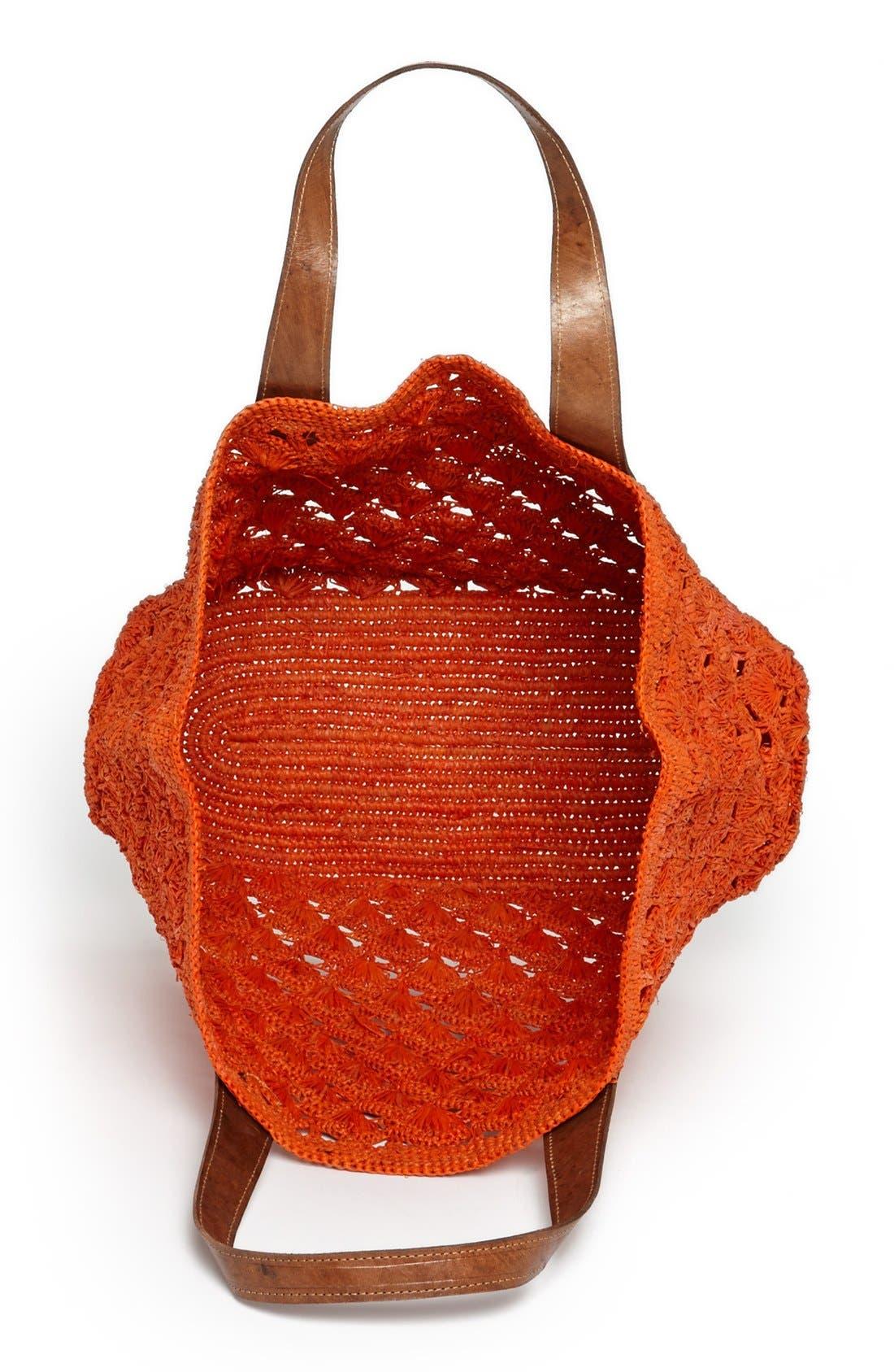 Alternate Image 3  - Mar y Sol 'Valencia' Crocheted Raffia Tote