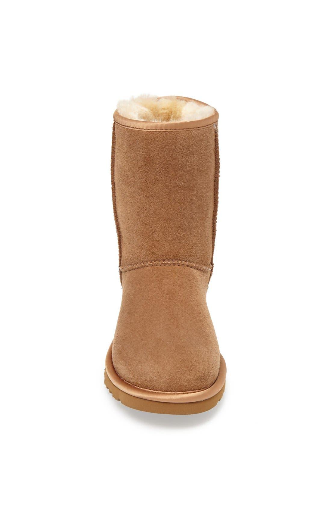 Alternate Image 3  - UGG® Australia 'Classic Short' Metallic Patent Boot (Women)
