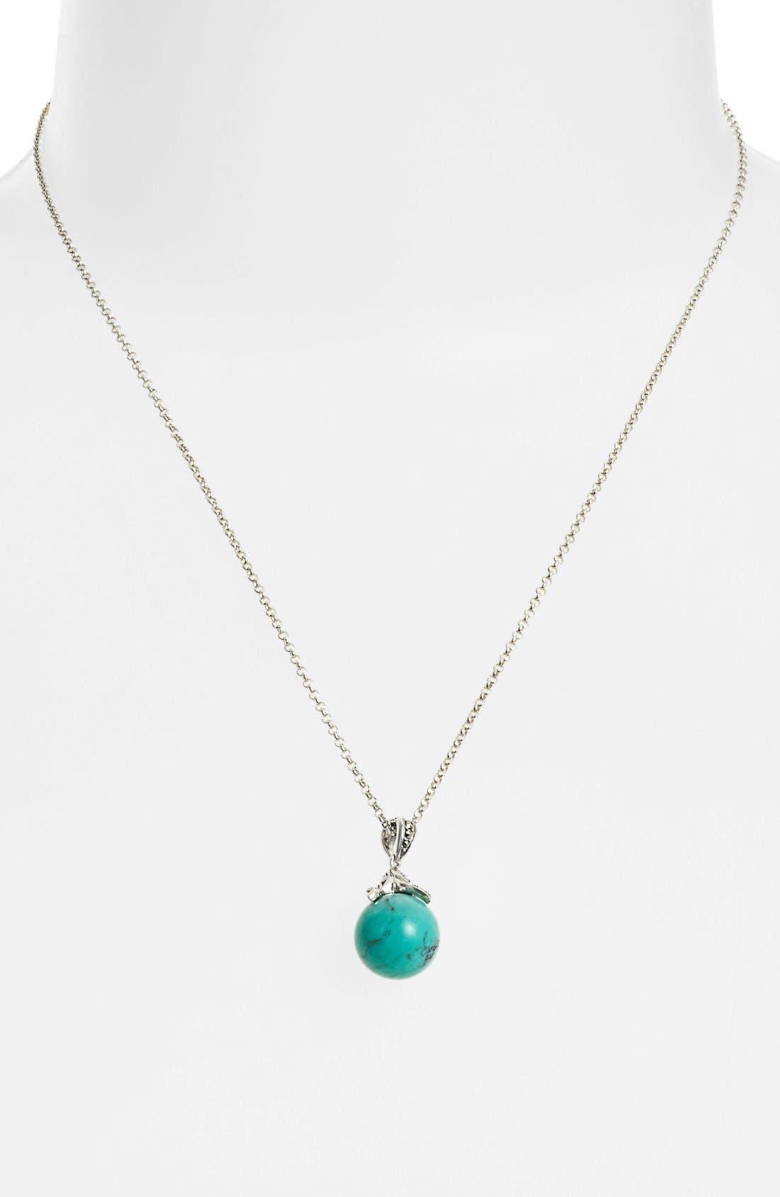 Main Image - Judith Jack Turquoise Pendant Necklace