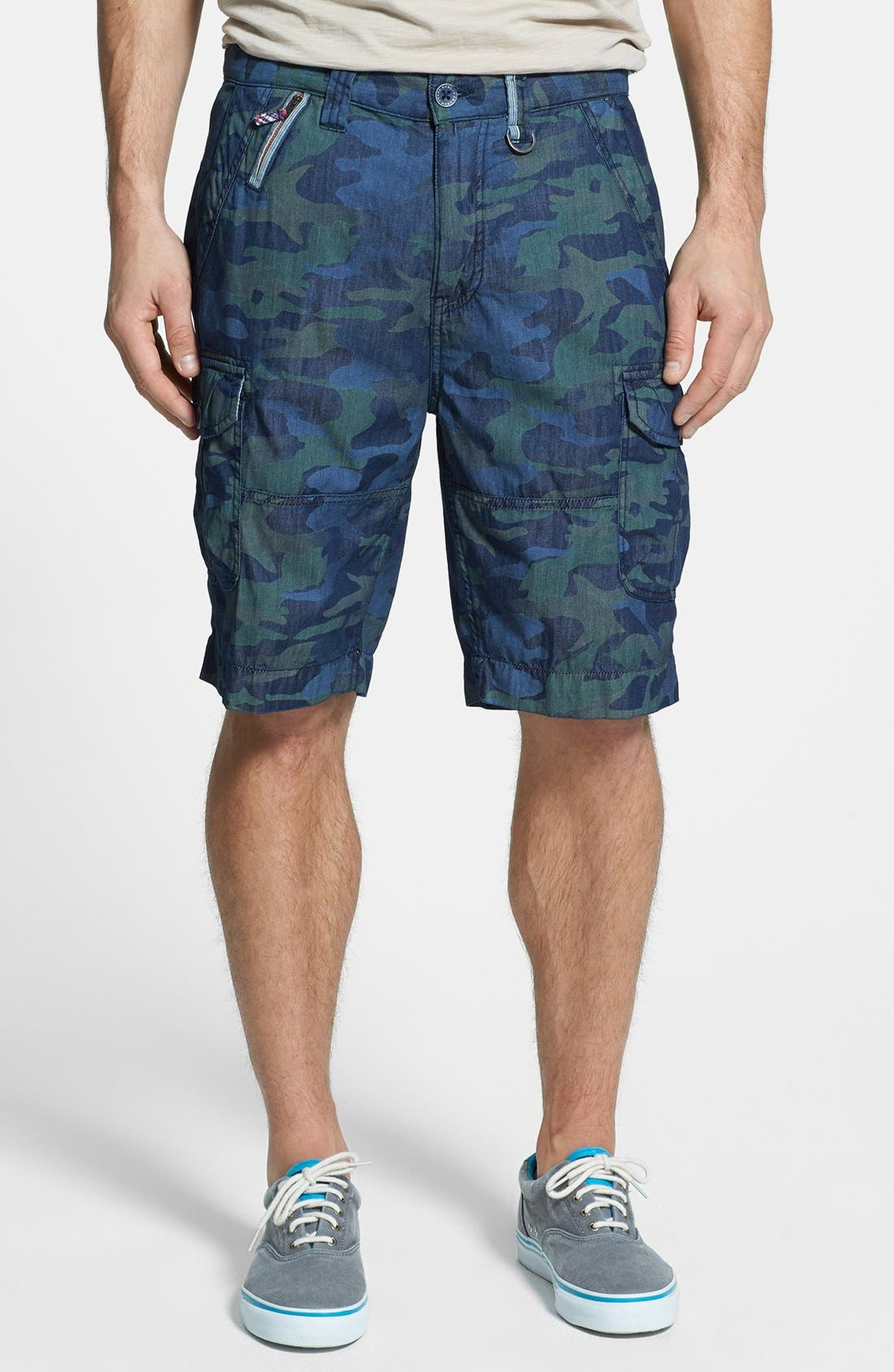 Alternate Image 1 Selected - Robert Graham 'Welbersere' Cargo Shorts