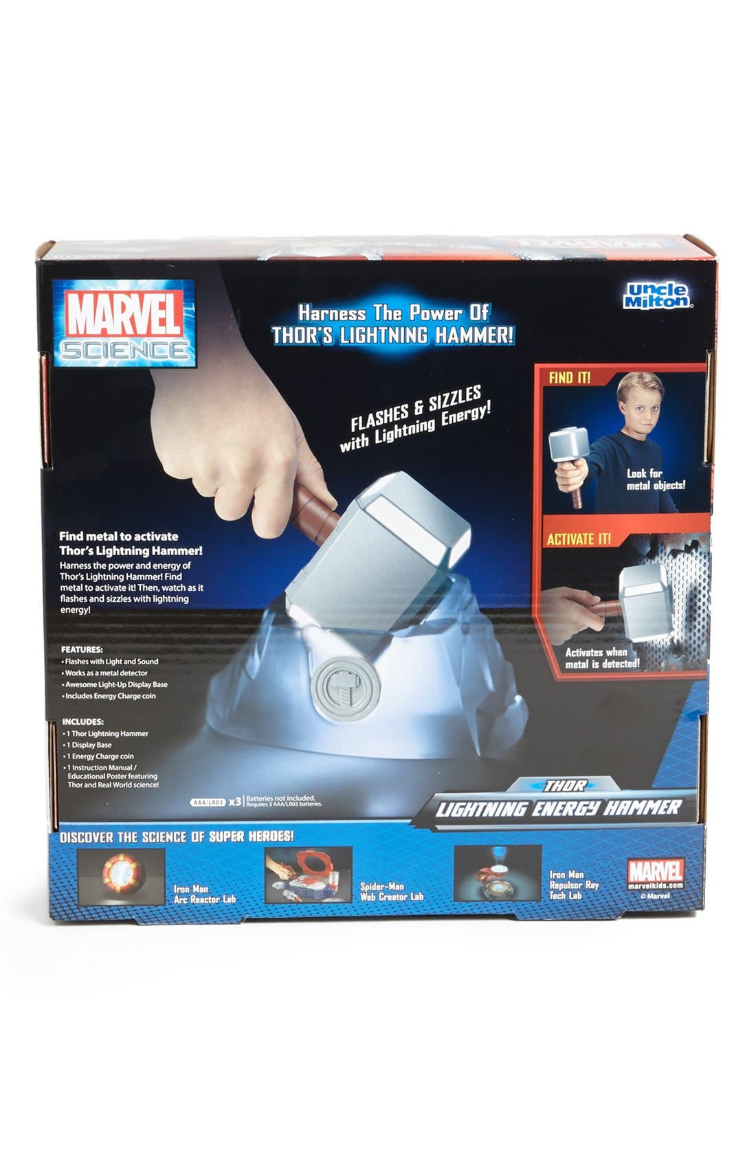 Alternate Image 2  - Uncle Milton 'Thor's Lightning' Energy Hammer