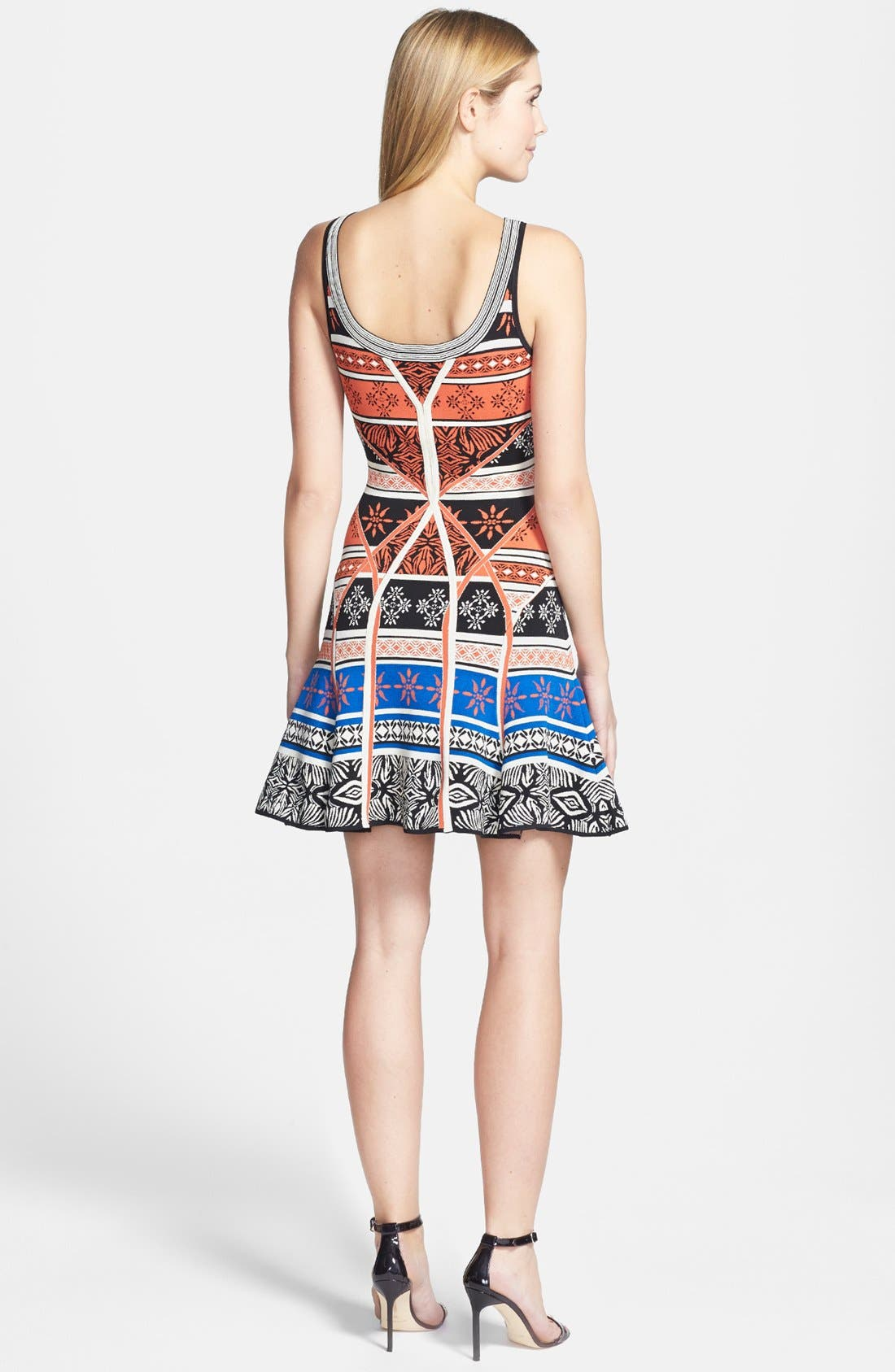 Alternate Image 2  - Diane von Furstenberg 'Ilsa' Print Knit Tank Dress