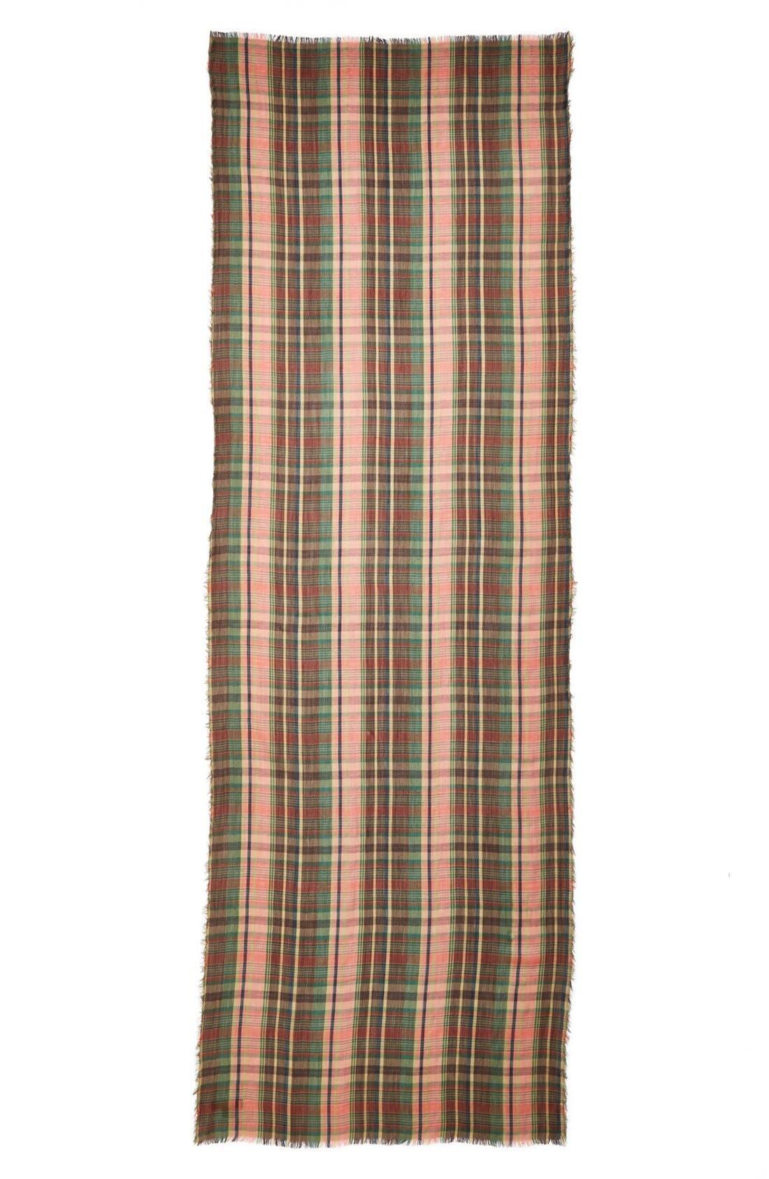 Alternate Image 2  - Lauren Ralph Lauren Oversized Plaid Scarf