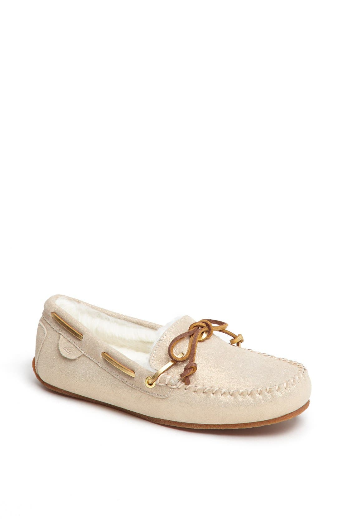 Alternate Image 1 Selected - Sperry Top-Sider® 'Scarlett' Faux Fur Slipper