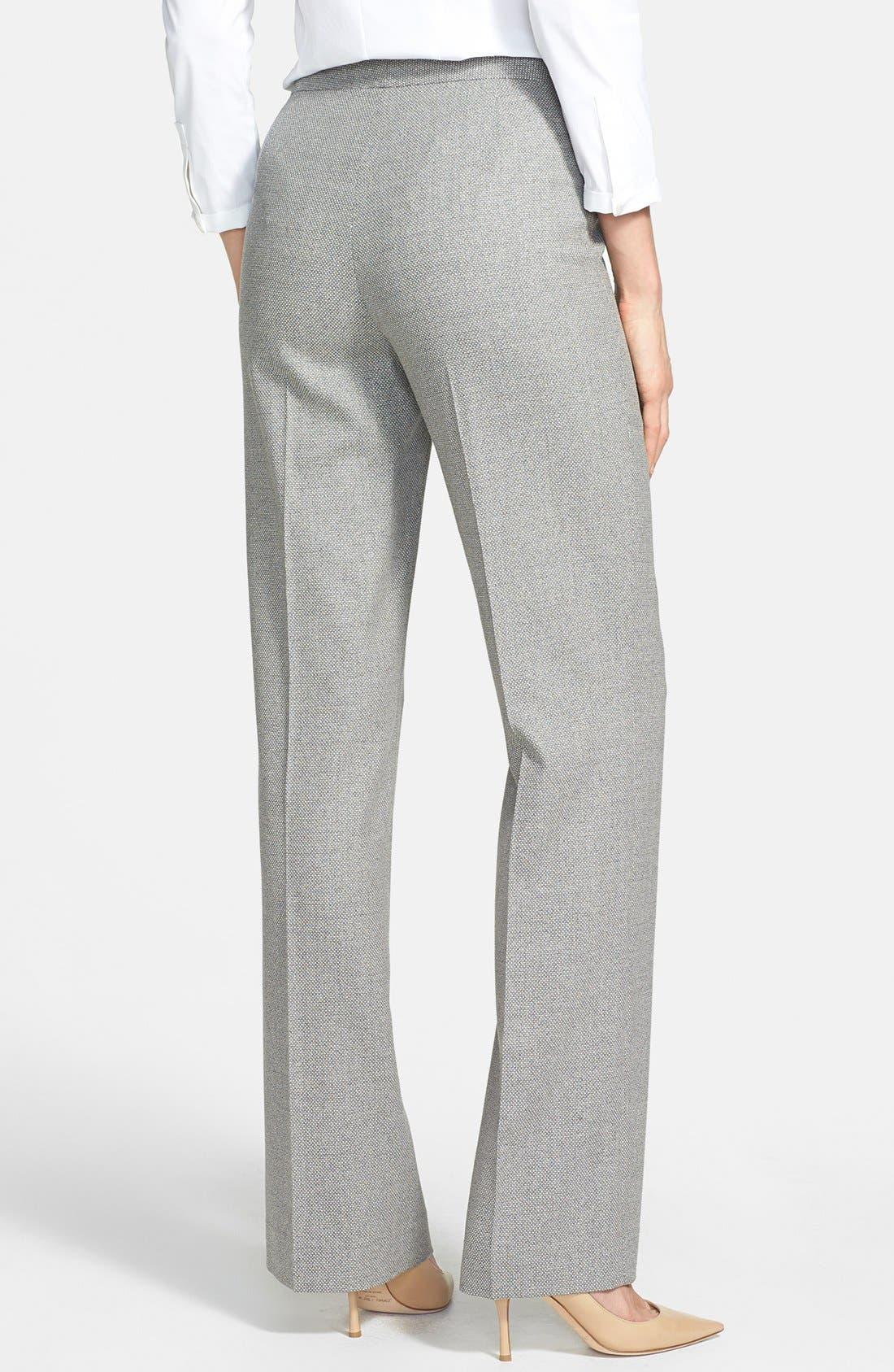 Alternate Image 2  - Lafayette 148 New York Silk Blend Pants