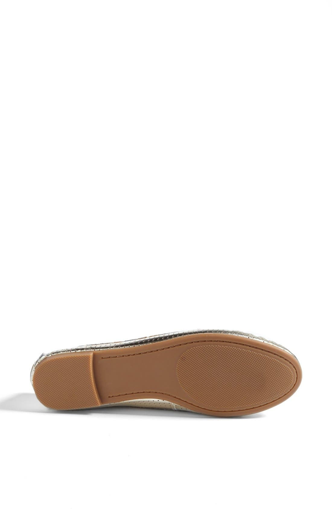 Alternate Image 4  - Steve Madden 'Murphey' Leather Flat