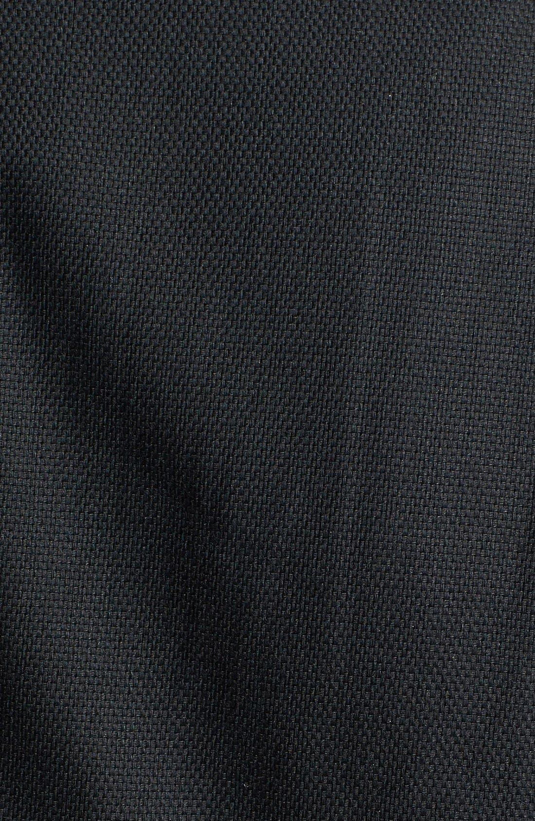 Alternate Image 3  - Sejour Stretch Cotton Zip Jacket (Plus Size)