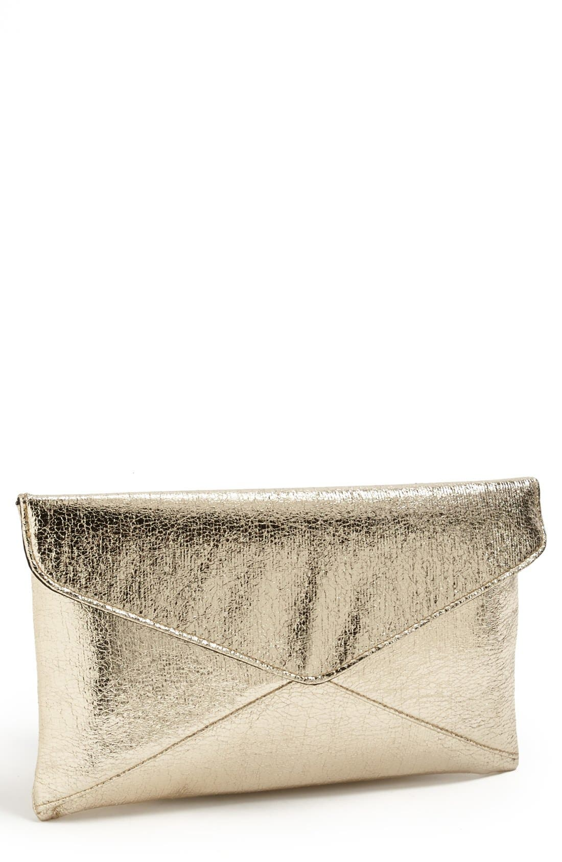 Main Image - Expressions NYC 'Crackle' Envelope Clutch