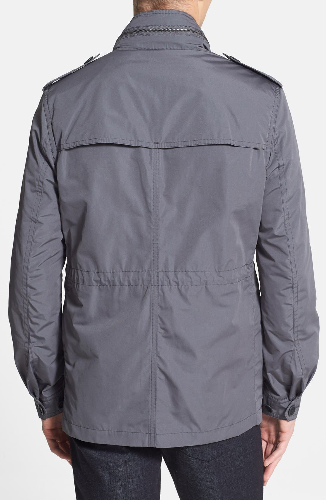 Alternate Image 2  - Burberry Brit 'Barkleigh' Military Jacket