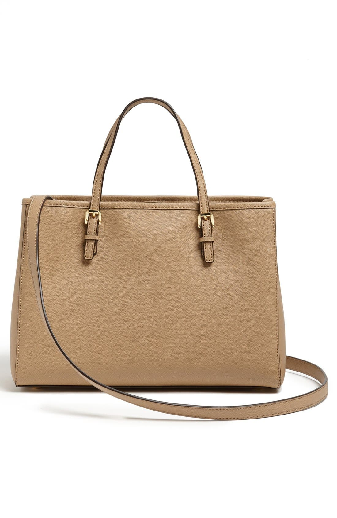 Alternate Image 4  - MICHAEL Michael Kors 'Jet Set' East/West Saffiano Leather Tote