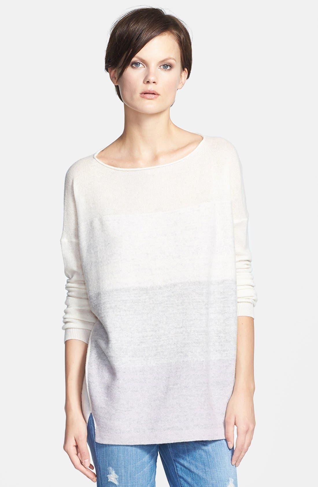 Alternate Image 1 Selected - Vince Ombré Sweater